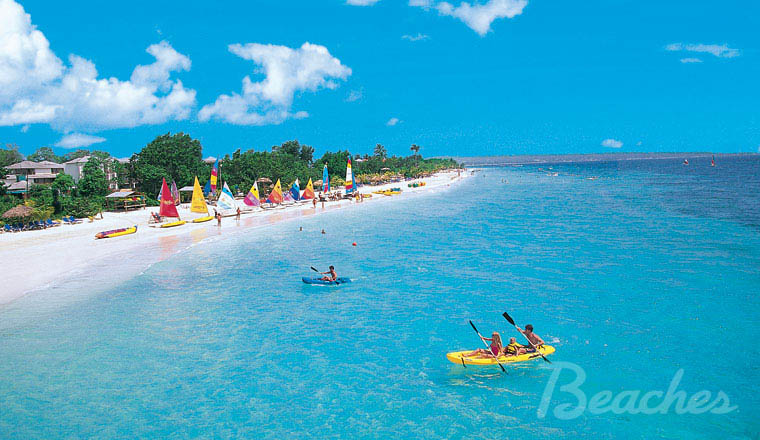 Beaches Resort In Negril Jamaica Publicity