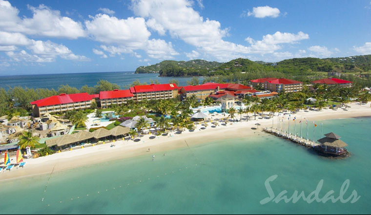 Sandals st Lucia Grande Airport Sandals Grande st Lucian Spa